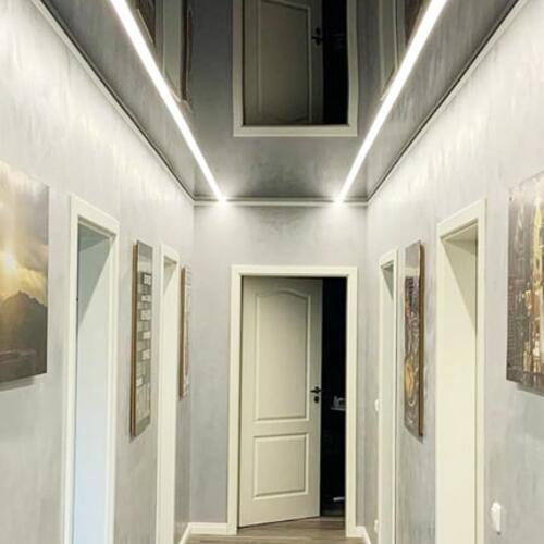 Фото Натяжные потолки в коридоре