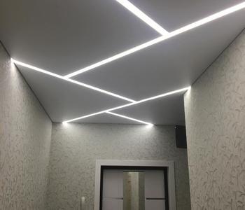 Натяжной потолок прямоугольники