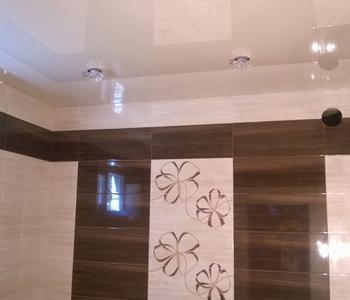 Ванная комната   бежевый