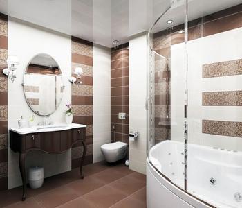 Светло серый в ванной