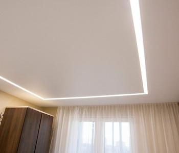 Натяжной потолок линии