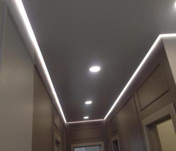 Натяжной потолок парящий