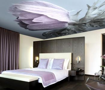 Натяжной потолок тюльпан