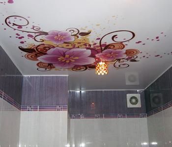Натяжные потолки фотопечать