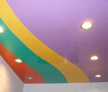 Разноцветный комбинированный