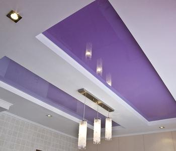 Натяжной потолок прямоугольник