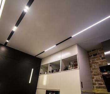 Натяжной потолок паралели